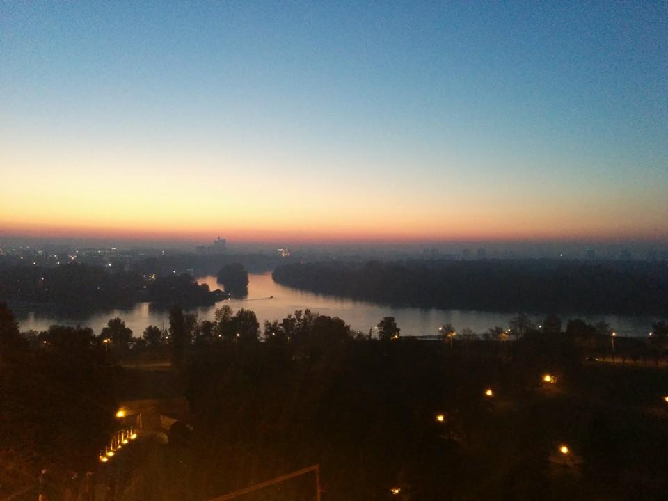 Belgrade Fort - River Sava and Danube Confluence -- where Attila the Hun apparently died